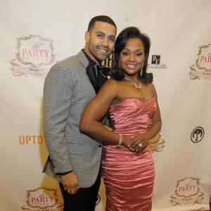 Apollo and Phadrea Parks at Salute To Excellence Awards