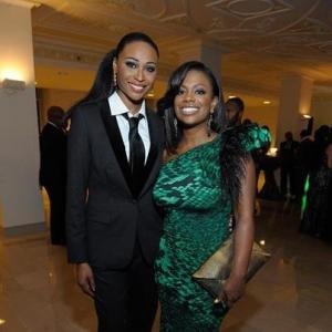 Kandi Burruss and Cynthia Bailey at the Salute To Excellence Awards