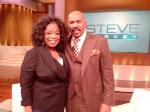 Oprah and Steve Harvey