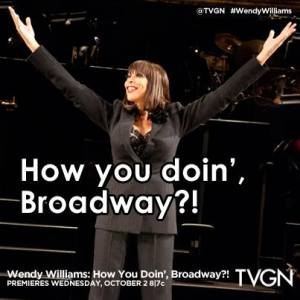 Wendy Williams- How You Doin', Broadway