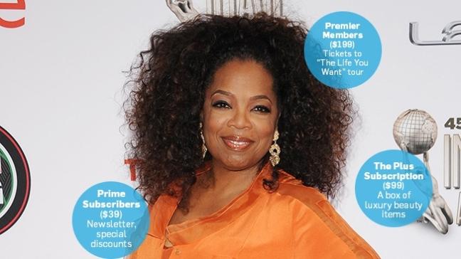 Oprah, the Oprah Magazine